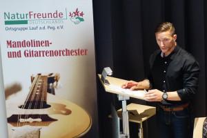 Begrüßung durch Bernd Küstner