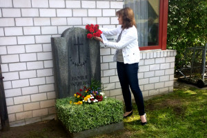 Blumen für Anna Wahlrab
