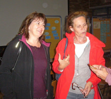 Claudia Hälter und Maja Doll im Gespräch