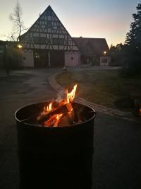 Feuer als Wegweiser