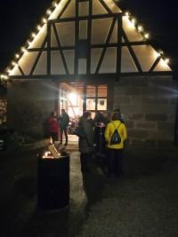 Tolle Atmosphäre im Schlosshof