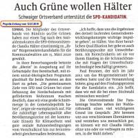 Bericht der Pegnitz-Zeitung