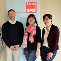 Claudia Hälter und Bernd Küstner mit Martina Baumann u. Alexander Horlamus