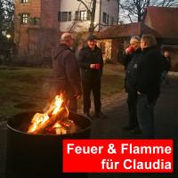 Feuer & Flamme für Claudia